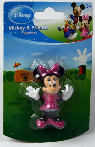 Disney Mickey Mouse Clubhouse 2 -3 Goofy Figurine Cake Topper (Minnie Mouse Cake Topper Figurine)
