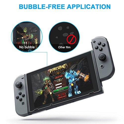 Pack 2 protectores de pantalla Nintendo Switch