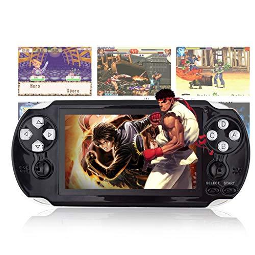 YXJGXX Console di Gioco Portatile, Console di Gioco Portatile Pap Game2 A 32 Bit (Nero)