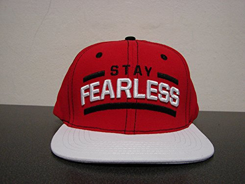 kki Bella Stay Fearless Weiß Snapback TV Authentic ()