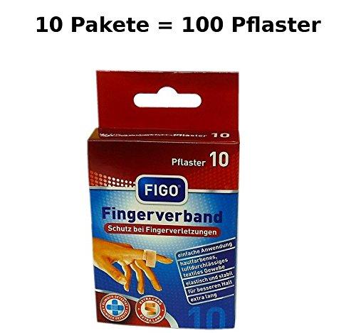 varivendo 100 Fingerverband Fingerpflaster Finger Pflaster elastisch 12 x 2 cm
