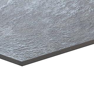 Brave Grey Musterfliese 30x60 cm, Feinsteinzeug Fliese Steinoptik (Muster)