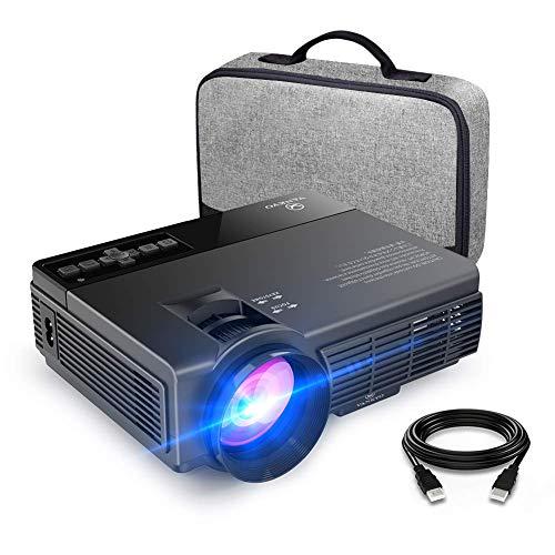 VANKYO LEISURE 3 Vidéoprojecteur Portable 2400 Lumens LED Mini Projecteur LCD Rétroprojecteur Soutien HD 1080p et 170 '' Affichage pour HDMI, AV et VGA Compatible avec Fire TV Stick / Laptop / DVD / PS3 / Xbox / TV box Via Entrée HDMI pour Cinéma Privé / Jeu Vidéo /FIFA, NBA ,Coupe du Monde(Noir)