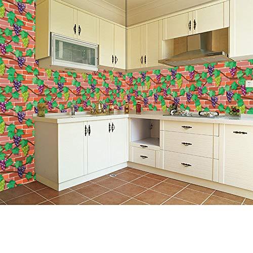 lsaiyy Selbstklebende tapete Hintergrund Wand Simulation Rock Muster Ziegel tapete 3D Aufkleber tapete-45 cm X 10 Mt -
