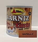 PROMADE - Barniz tinte satinado al agua sapeli 375 ml