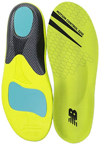 New Balance Insoles 3210 Motion Control Shoe, neon Green, Medium/M 11-11.5, W 12.5 D US -