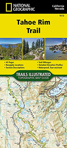 Tahoe Rim Trail (National Geographic Adventure Map, Band 3329)