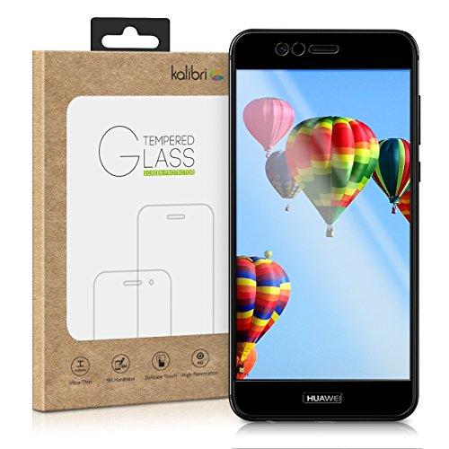 kalibri-Echtglas-Displayschutz-fr-Huawei-Nova-2-Plus-3D-Schutzglas-Full-Cover-Screen-Protector-mit-Rahmen-in-Schwarz