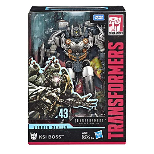 Transformers Toys Studio Series 43 Voyager Class Age of Extinction Movie KSI Boss Action Figure
