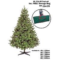 NEW COLORADO GREEN ARTIFICIAL CHRISTMAS TREE ((4FT - CT06183))