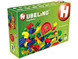 HUBELINO Marble Run - 128-Piece Run Elements Expansion Set - the Original! Made in Germany! - Certified and Award-Winning Marble Run - 100% compatible with Duplo
