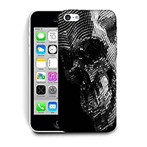 Snoogg Skull Face Printed Protective Phone Back Case Cover For Apple Iphone 6+ / 6 Plus