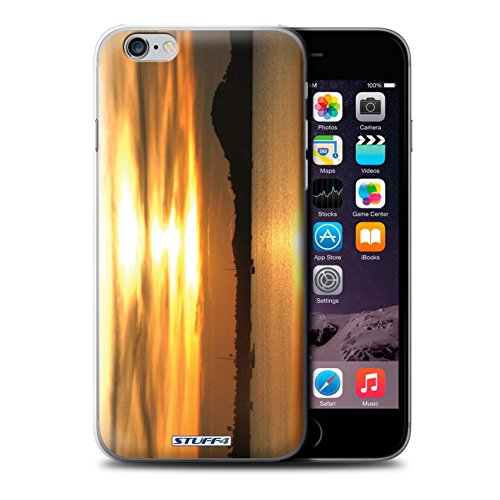 STUFF4 Phone Case / Cover for iPhone 6+/Plus 5.5 / Treeline Design / Sunset Scenery Collection Yachts