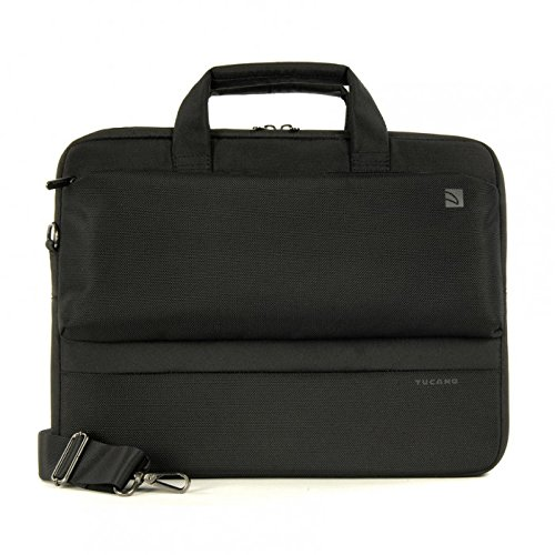 Tucano DRITTA Slim Bag für Apple iPad/Tablet/Ultrabook 14 Zoll schwarz