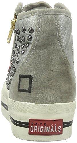 D.a.t.e. ROCKET Sneakers Damen Silber