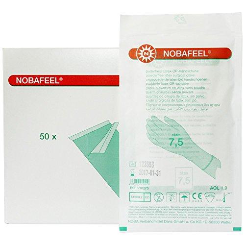 NOBAFEEL® Puderfreie OP-Handschuhe , Größe:6.5