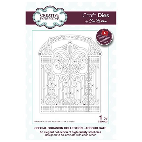 Creative Expressions by Sue Wilson Special Occasion Collection - Arbour Gate - CED9403 by Creative Expressions -