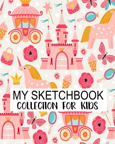 My Sketchbook Collection For Kids: Blank Sketchbook For Kids, Blank Journal, Blank Notebook, Drawing Pad: Volume 9 por Jasmine Leone
