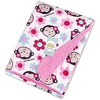 Manta suave y cálida para bebés; ideal para el cochecito, el moisés o la cuna