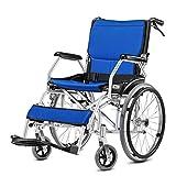 Komfortgetriebener Rollstuhl mit abnehmbaren Schreibtischarmen und ansteigenden Beinstützen, 18-Zoll-Sitz,a