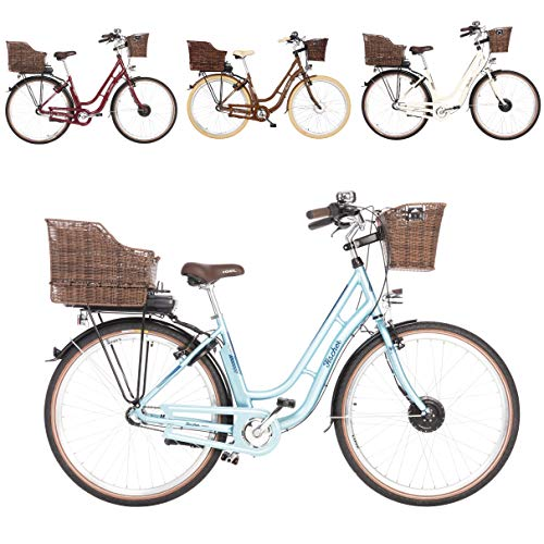 FISCHER E-Bike Retro ER 1804 (2019), verschiedene Farben, 28 Zoll, RH 48 cm, Vorderradmotor 20 Nm, 36 V Akku