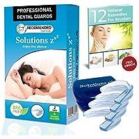 Preisvergleich für NEU ! Solutions ZZZ Professional Mundschutz [4 PCS 2 Größen] - Aufbissschiene Zähneknirschen Knirscherschiene...