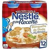 Nestlé p'tite recette blanquette de dinde 2x250g dès 12 mois - ( Prix Unitaire ) - Envoi Rapide Et Soignée