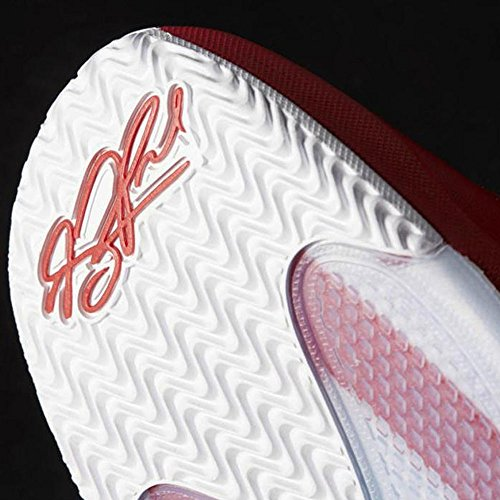 reputable site c92ad 2370d ... adidas D Rose Englewood Boost, Espadrilles de Basket-Ball Homme Rouge -  Rojo ...