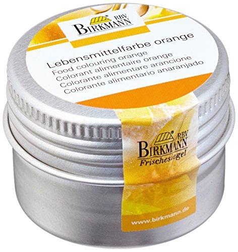 Birkmann 503076 Lebensmittelfarbe, konzentriertes Pulver, orange, 10 g (Lebensmittelfarbe Halloween Orange)