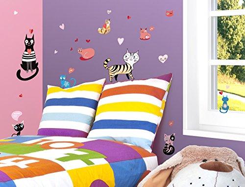 I-love-Wandtattoo WAS-10244 - Set de pegatinas de pared para habitación infantil