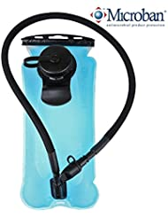 Bolsas de agua, ccbetter 3L Silicona Portátil Plegable Pack bolsa de hidratación Accesorios para Mochilas Deportes Aire Libre Ciclismo Acampada Senderismo Corriendo De viaje con BPA libre y la certificación de la FDA (Azul)