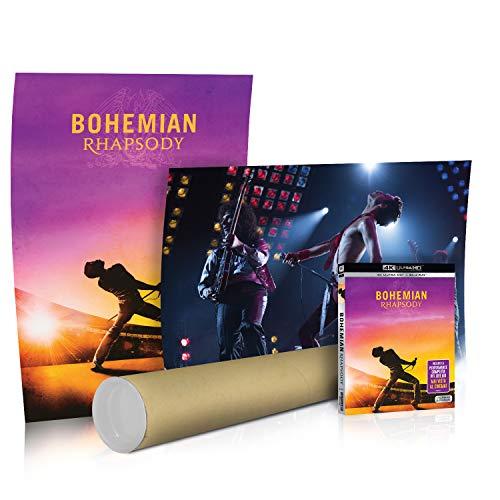 Bohemian Rhapsody (4K Ultra HD + Blu-Ray) + Poster esclusivo
