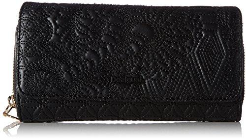 Desigual Mone_padded Pu Lottie. 2000. U, femme, Noir (Negro), 3.00x9.5x20.20 cm (b x h t)