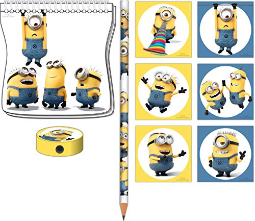 Amscan 999754 Minions Stationery Packungen