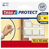 tesa 57899 - Tampon Antichocs - Diamètre 10mm - Blanc