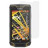 atFolix Schutzfolie kompatibel mit RugGear RG740 Bildschirmschutzfolie, HD-Entspiegelung FX Folie (3X)