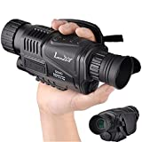 Landove 5x40mm Infrared HD Digital Night Vision Monocular with 1.5 inch TFT LCD
