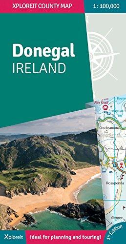 Donegal Ireland (Xploreit County Series) por Xploreit Maps