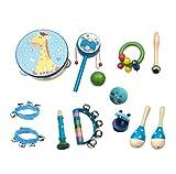 YEZOU Juguetes de Instrumentos Musicales para Niños 13 en 1 Set Música Juguete Instrumento...