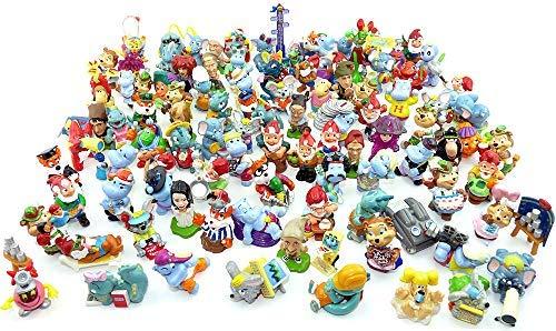 Kinder Überraschung 100 unterschiedliche Ü-Ei Figuren als Einsteigerpaket -