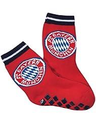 FC Bayern München ABS Chaussettes Kids, rouge 27–3020219–009