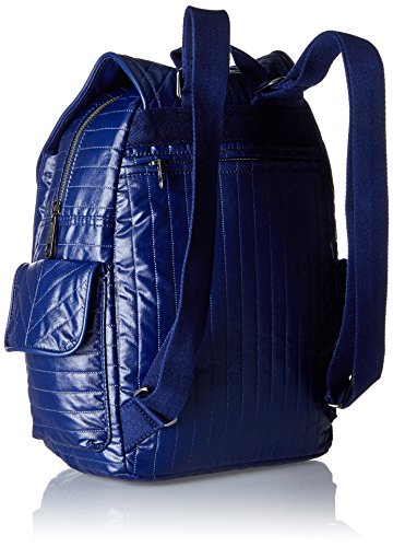 Kipling Damen City Pack S Rucksack, 27 x 33.5 x 19 cm Blau (Shiny Blue)