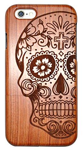 SunSmart iPhone 6/6s Holz Case Handy Cover aus Holz für iPhone 6/6s mit 4,7-Zoll-Display -05 IP6-4.7''-01