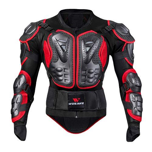 ALIKEEY Moto Chaleco De Cuerpo Completo Armor Jacket Motocross...