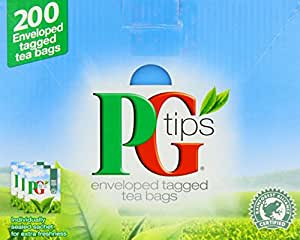 PG Tips Envelope 200 Tea Bags