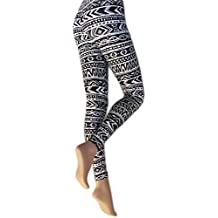Silky - Leggings estampados modelo Aztec para mujer