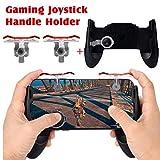 happy event Mobile Game Controller (Neueste Version), E9 Handy Game Controller Sensitive Schießen und Zielen Tasten + Tragbare Gamepad Gaming Joystick Hanfhalter für PUBG