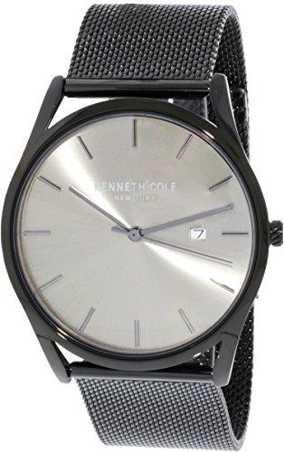 Kenneth Cole Men's KC50337002 Black Stainless-Steel Japanese Quartz Fashion Watch