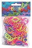 Rainbow Loom Silikonbänder Neon Mix