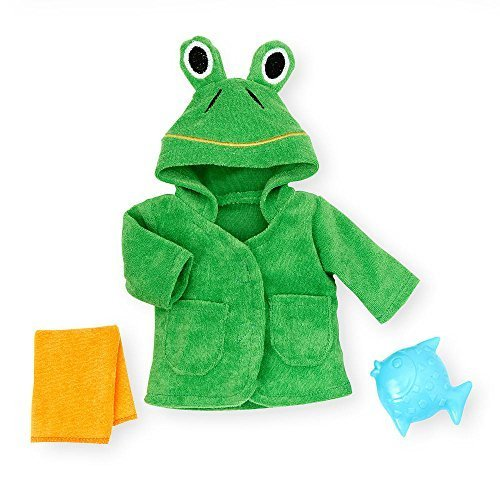 You & Me 12 Inch-14 Inch Bath Time Accessories - Frog Robe by Toys R Us